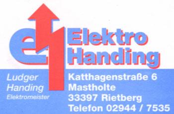 Logo Elektro Handing GmbH & Co. KG