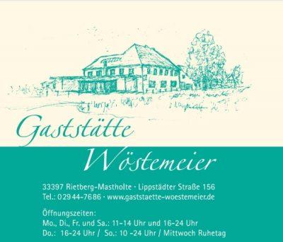 Logo Gäststätte Wöstemeier