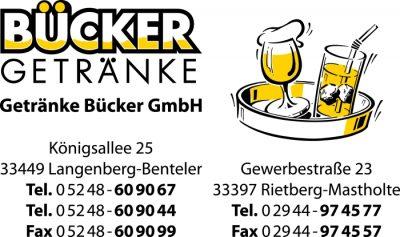 Logo Getränke Bücker GmbH