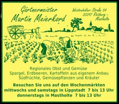 Logo Gärtnermeister Martin Meierkord