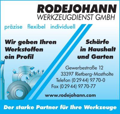Logo Rodejohann Werkzeugdienst GmbH